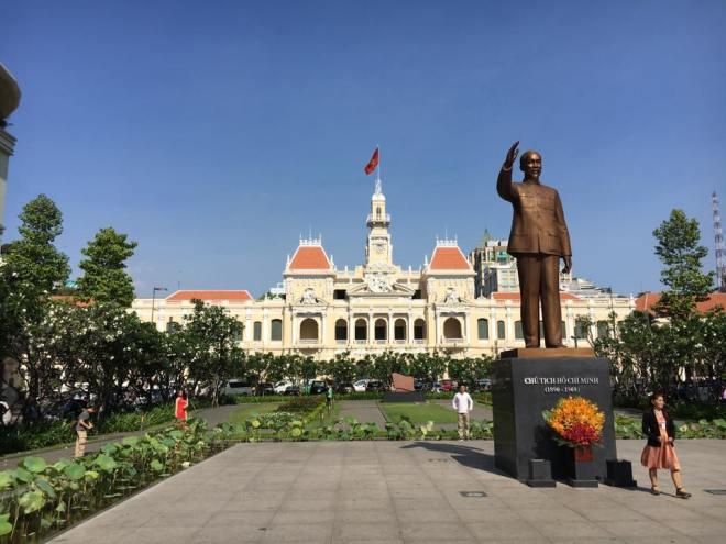 Ho Chi Minh standbeeld